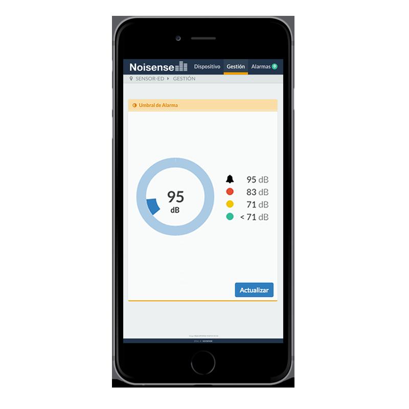 app Noisense aplicación para moviles