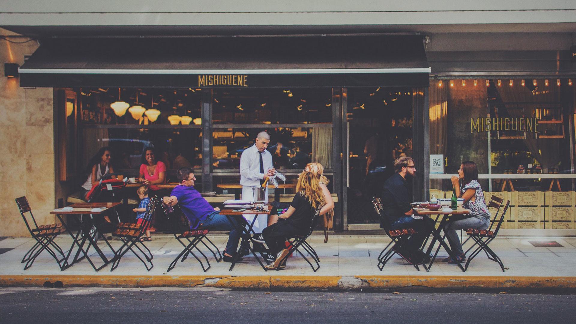 Restaurantes y terrazas